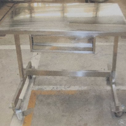 Work Table Stainless with Drawers