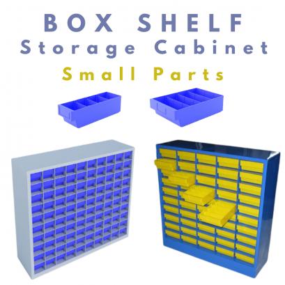 Box Shelf Storage Cabinet
