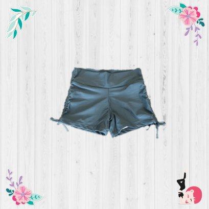 Yoga Shorts - Solid Grey