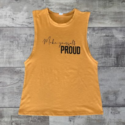 SLAVI TANK ลาย MAKE YOURSELF PROUD