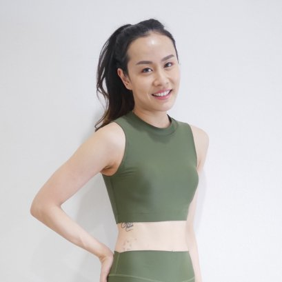 Stella Bra - Military Green