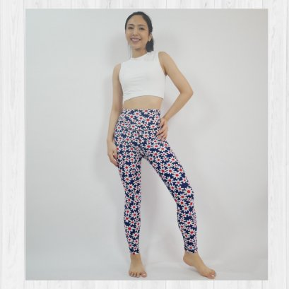 BASIC LEGGINGS - MURA FLOWER