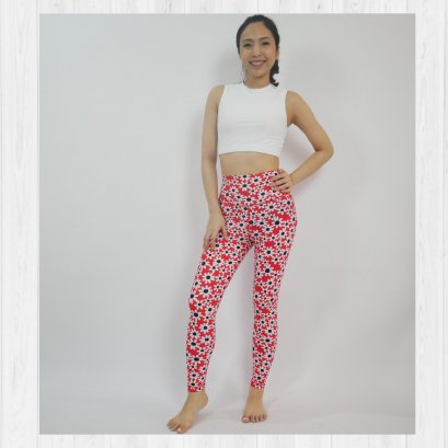 BASIC LEGGINGS - KAMI FLOWER
