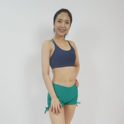 Yoga Shorts - GREEN