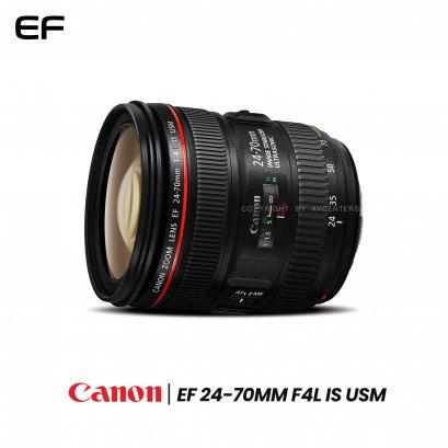 Canon Lens EF 24-70 mm. F4L IS USM