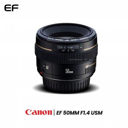 Canon Lens EF 50 mm. F1.4 USM