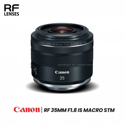 Canon Lens RF 35 mm. F1.8 Macro IS STM