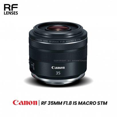 Canon Lens RF 35 mm. F1.8 Macro IS STM