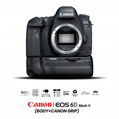 Canon EOS 6D MARK II (Body+Grip)