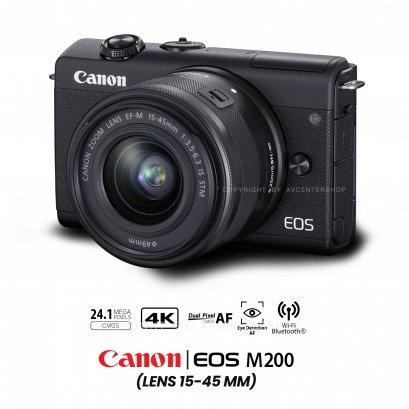 Canon EOS M200 kit 15-45 mm.