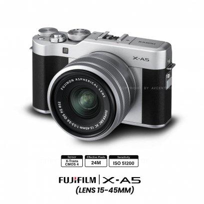 Fujifilm X-A5 kit 15-45 mm3.
