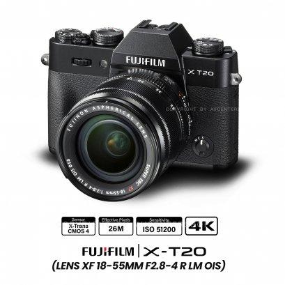 Fujifilm X-T20 kit 18-55 mm.