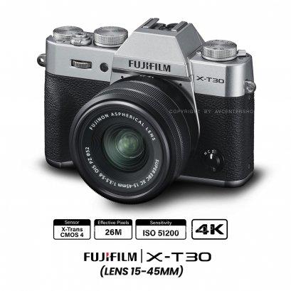 Fujifilm X-T30 kit 15-45 mm.