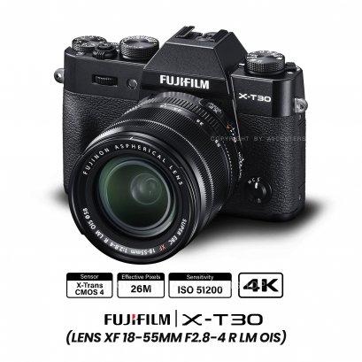 Fujifilm X-T30 kit 18-55 mm.