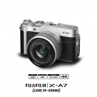 Fujifilm Camera X-A7 Kit 15-45 mm.