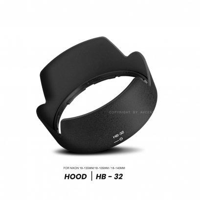 Hood HB-32 For lens 18-105mm, Lens 18-140mm