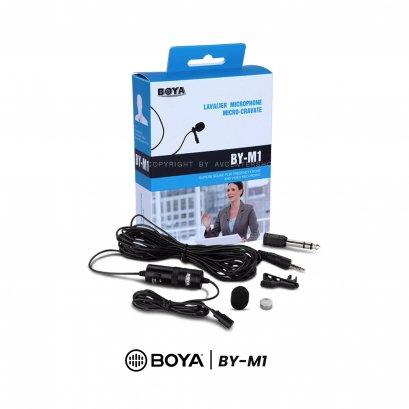 BOYA Microphone BY-M1 ไมค์ติดมือถือ หรือ กล้องถ่ายภาพ