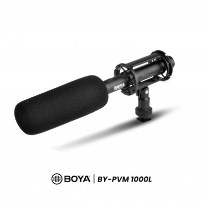 Boya Microphone BY-PVM1000L Shotgun Microphone