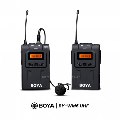 Boya Microphone BY-WM6 (Wireless)