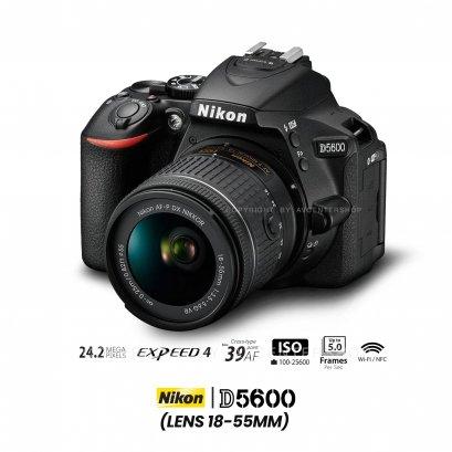 Nikon D5600 kit 18-55 mm.