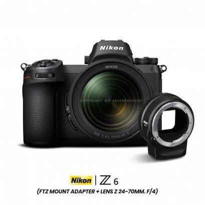 NIKON Z6 with lens Z 24-70MM F/4 S