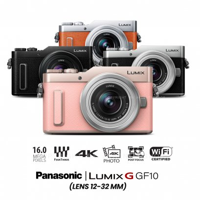 Panasonic Camera GF-10 kit 12-32 mm.