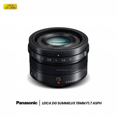 Panasonic Lens Leica DG 15 mm. F1.7 ASPH