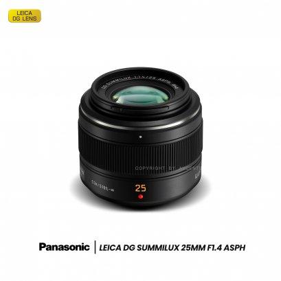 Panasonic Leica 25 mm. F1.4 ASPH