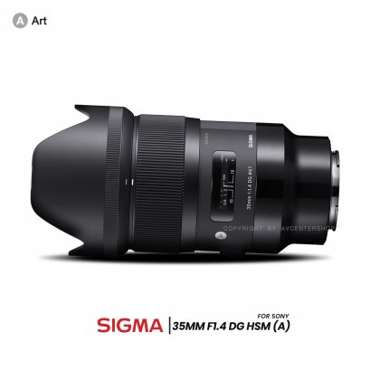 Sigma Lens 35 mm. F1.4 DG HSM (A) (for Sony E)