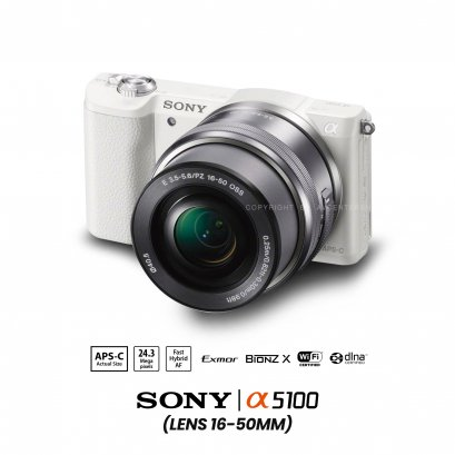 Sony A5100 kit 16-50 mm.