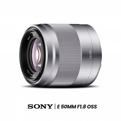 Sony Lens E 50 mm. F1.8 OSS (E-mount)