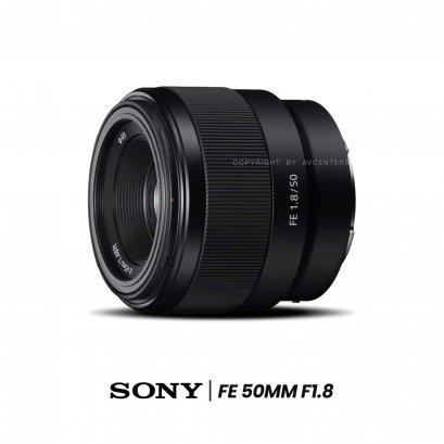 Sony Lens FE 50 mm. F1.8