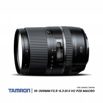Tamron Lens 16-300 mm. F3.5-6.3 Di II VC PZD