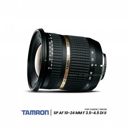 Tamron Lens SP AF 10-24 mm f/3.5-4.5 Di II