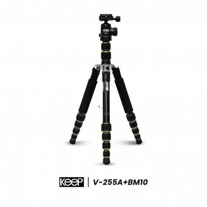 ขาตั้งกล้อง KEEP V-255A + BM10