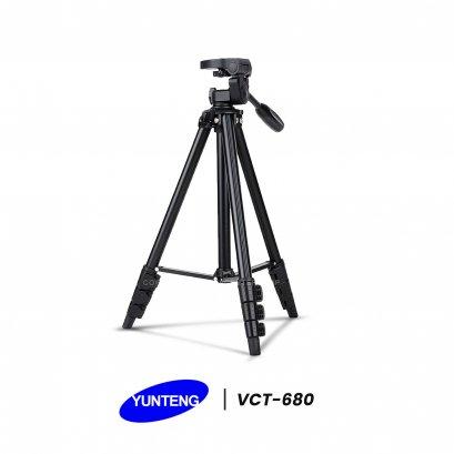 ขาตั้งกล้อง Yunteng - VCT 680 รับน้ำหนักได้ถึง3 กิโลกรัม