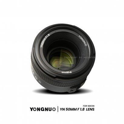 YONGNUO เลนส์ YN50 F1.8 For nikon