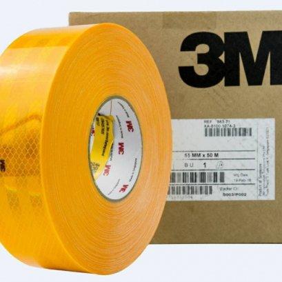 สติ้กเกอร์สะท้อนแสง3M S.55mm x 50m