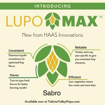 ฮอปทำเบียร์ Lupomax Sabro (8oz)