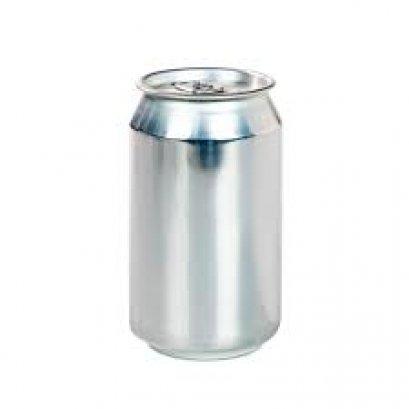 กระป๋องอลูมิเนียม 330 มล. Full Aperture Aluminium Disposable Beverage/Beer Cans With Lids