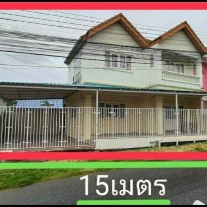 ขายบ้านแฝด2ชั้น 3 ห้องนอน 3 ห้องน้ำ ริมถนนเขาตาโล