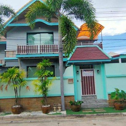 ขายบ้านเดี่ยว 2 ชั้น หมู่บ้านณัฐชา พัทยากลาง ขนาดที่ดิน 74.02ตารางวา
