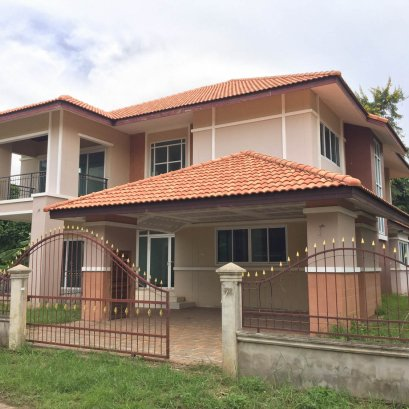 2 storey detached house for sale Quality houses near the streets around Udon Thani, Khon Kaen exit