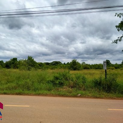 Land for sale a large plot of 54 rai 2 ngan 70 square wah (total 3 title deeds) near the center of Udon Thani.