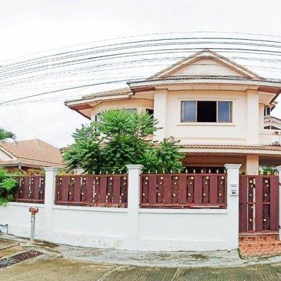 2 storey detached house for sale, Royal Green Park Pattaya, size 267 sq.m.