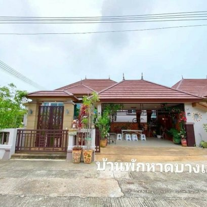 House for sale, pool villa, next to Bang Saray beach. Le Beach Home Village, 220 sq m, 3 bedrooms, 3 bathrooms