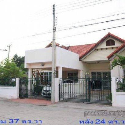 Townhouse for sale, Baan Sirisa 11, corner project, No. 8/56, area 37 square meters.