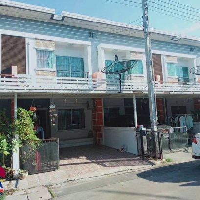 ขายบ้านทาวน์เฮ้าส์หมู่บ้านประภัสสร8 (บ่อวิน)