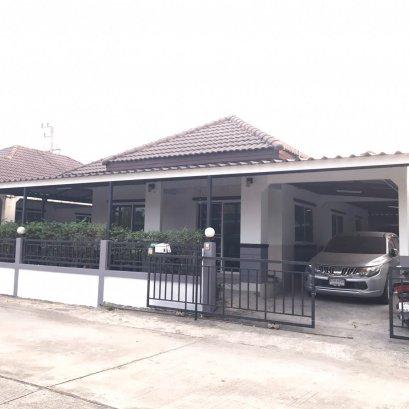 Single house, Smartland Park Hill Village, Mapyangphon Zone, Rayong,