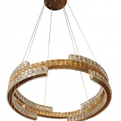 โคมไฟนีโอไลท์ 8752-800 ไฟแก้วคริสตัลห่วงวงแหวน
